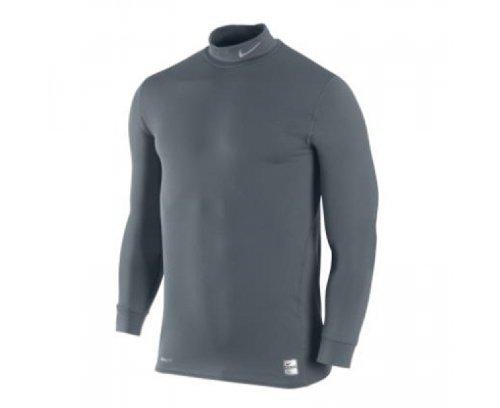 medium Flint Top Long Camiseta Sleeve Grey Nike Grey SzqAt