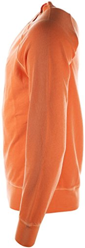 Gant sweat-shirt sans fermeture éclair homme orange