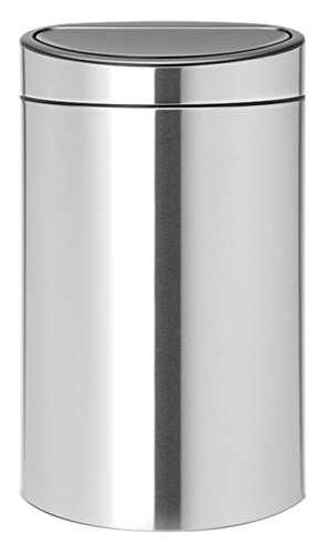 New, 10 Gallon Matt Steel Fingerprint Proof (Brabantia Matt)