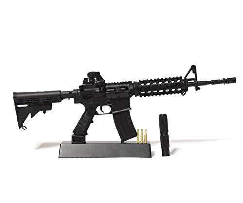 Ghost Modèle réduit d'arme factice-Maquette décorative en métal avec Support de présentation-A Collectionner : kit n°1… 1