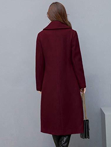 Parka Autunno Monocromo Bobo Rot Cappotto Libero Outerwear Caldo Elegante Invernali Prodotto Giaccone Plus Tempo Fashion Estilo Lunghe Especial Maniche Donna Lunga Bavero 88 Yf6vI7ybg