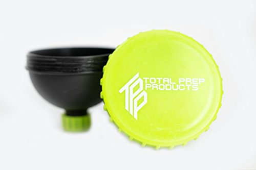 Total Prep Products Portable Protein Funnel BPA Free Non Toxic 3 Pack Multiple Colors by Total Prep Products (Image #4)