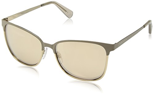 Cole Haan Women's Ch7019 Metal Square Sunglasses, Sand, 58 - Womens Haan Sunglasses Cole