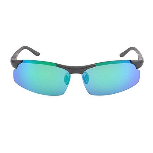 3 Aprettysunny sin Retro Sol al Hombre Gafas Aire polarizadas de 3 para Libre Llantas para Ciclismo Deportes Estilo qT4rqCx