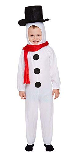 Henbrandt Little Boys' Fancy Dress Snowman White ()
