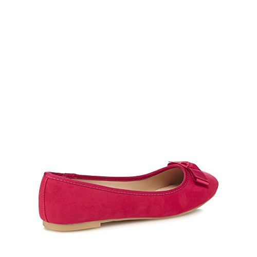 online retailer eb3b0 2ce80 Collection  Carlton  Women Pumps Suedette Bright Pink Debenhams The 5qYwxCF