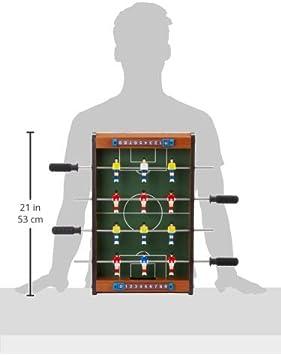 Aquamarine Games - Futbolín de Mesa (Compudid CP016): Amazon.es: Juguetes y juegos