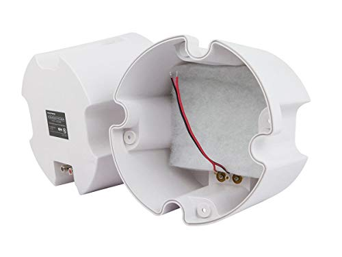 Monoprice ABS Back Enclosure (Pair) for PID 4103, 6 1/234; Ceiling Speaker