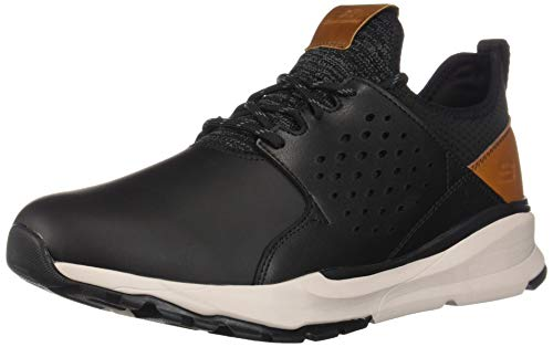 Skechers Relven- Hemson, Sneaker Uomo Nero (Black Blk)