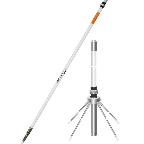 Solarcon A-99CK 17' Omni-Directional Fiberglass Base Station Antenna and Ground Plane Kit
