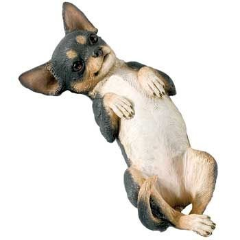 (Sandicast Small Size Chihuahua Tri, Lying Back (SS02802))