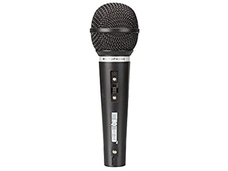 HQ Power MIC3BL Microphone Dynamique Bleu