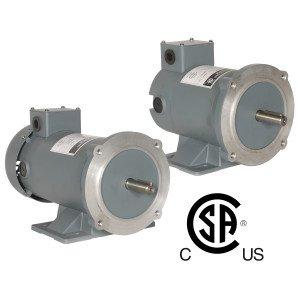 WORLDWIDE ELECTRIC 1800 RPM 56C FRAME 1HP P.M.D.C MOTOR WPMDC1-18-90V-56CB ()