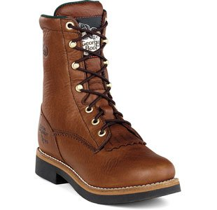 Georgia G3114 Mid Calf Boot, Barracuda Walnut, 9.5 M US by Georgia