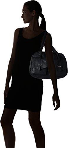 Tamaris Bernadette - Bolsos maletín Mujer Negro (Black)
