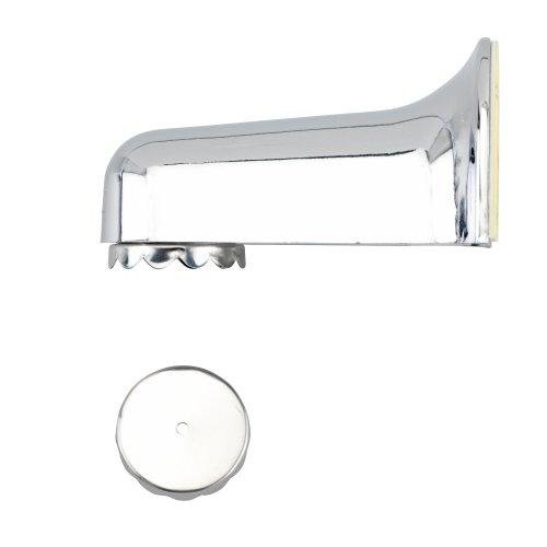 WENKO 4409020100 Magnetseifenhalter Chrom, Kunststoff, 4.5 x 4 x 7 cm, Chrom
