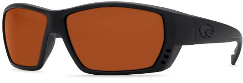 Costa Del Mar TA01OCGLP Tuna Alley Sunglass, Blackout Copper by Costa Del Mar