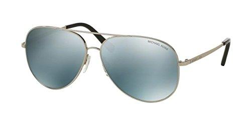 Michael Kors Men,Women MK5016 56 KENDALL Silver/Silver Sunglasses - Kendall Sunglasses
