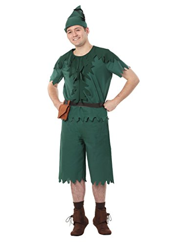 Plus Size Adult Peter Pan Costume 2X Kelly Green]()