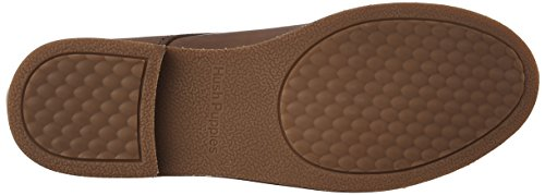 Hush Puppies Womens Annerley Clever Flat In Pelle Marrone Chiaro