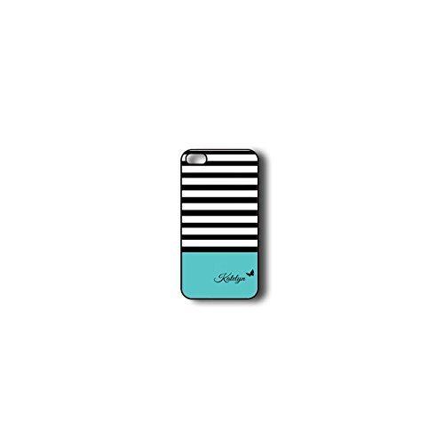 Krezy Case Monogram iPhone 6 PLUS Case, Colorful stripes Pattern Monogram iPhone 6 PLUS Case, Monogram iPhone...