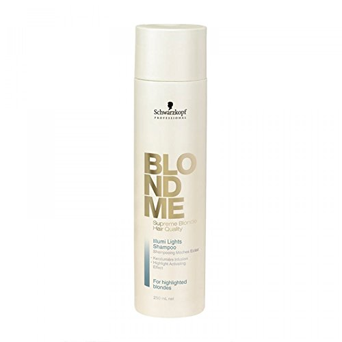Schwarzkopf Blond Me Illumi Lights Shampoo, 250ml/8.5 oz by Schwarzkopf
