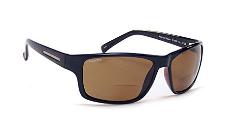 Coyote Eyewear BP-13 Polarized Reader Sunglasses (2.00), - Superflex Sunglasses