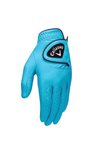 Callaway 2016 Opticolor Glove Ladies Left Aqua Large
