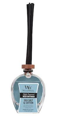 WoodWick SEA Salt Cotton Large 7 oz Reed Diffuser