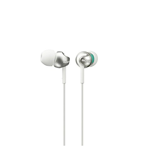 Sony MDREX110LPW.AE Deep Bass Earphones White