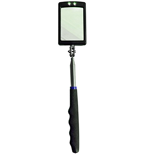 Inspection Mirror Telescopic LED lighting 360 degree flexible rotation for additional (Auto Lighting)