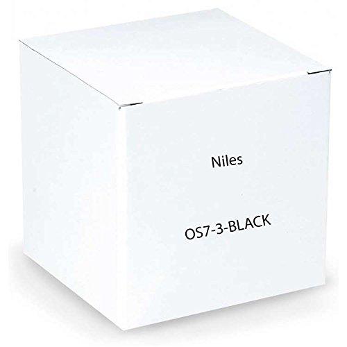 Niles OS7.3 Black 7'' 2-Way High Performance Indoor/Outdoor Loudspeakers - Pair (Black)