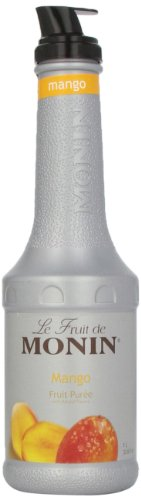 Monin Mango Fruit Puree, 1 Liter bottle