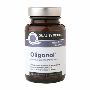Cheap Quality of Life Labs Oligonol Patented Lychee Polyphenol, Veggie Caps 30 ea