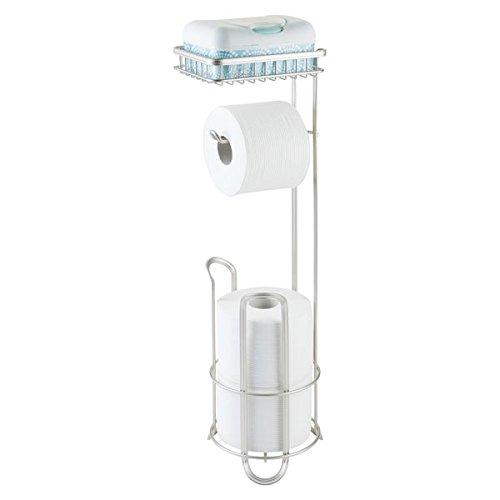 mDesign Standing Toilet Holder Bathroom