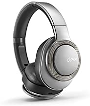 Flow I, Bluetooth Wireless Headphones with Noise Cancellation 20 Hours Battery + Quick Charge (Silver)