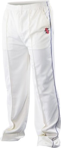 Super Cricket Pants Navy Trim Youth by Gray-Nicolls