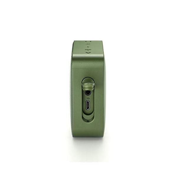 JBL Go 2 - Mini enceinte Bluetooth Portable - Étanche pour Piscine & Plage Ipx7 - Autonomie 5hrs - Qualité Audio JBL - Vert 4