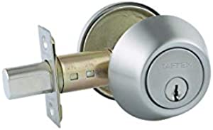Sweepstakes: Taftek AMD101 Single Cylinder Deadbolt with Anti-Bump in…