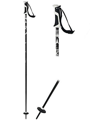 Atomic 1 Paar All Mountain Skistock, Damen und Herren, Aluminium, AMT², schwarz/ weiß, 125 cm, AJ5005238125