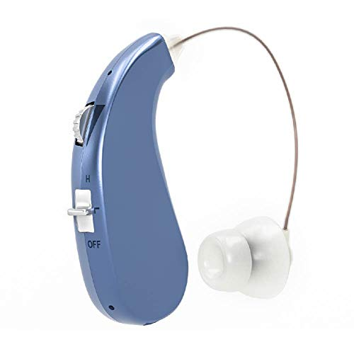 Britzgo Entry Level Rechargable Digital Hearing Amplifier Bha-203, Blue, 8 Ounce