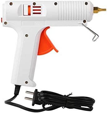 Mini Industrial Hot Glue Gun, Temperature Adjustable, And Non-Drip Nozzle 38PCS Glue Bars for DIY Small Art, Ideal for School Projects Office And School