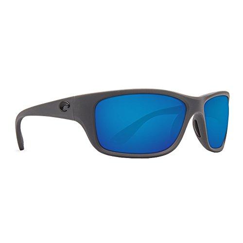 Costa Del Mar Men's Tasman Sea Sunglasses (Matte Gray,Blue - Sunglasses Mar Used Costa Del