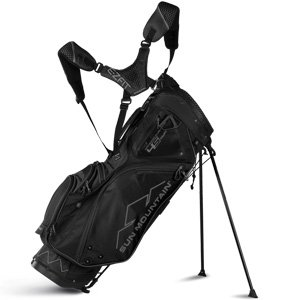 Sun Mountain Golf 2018 4.5 14-Way Stand Golf Bag BLACK (Black)