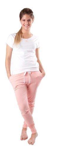 Nitis Umstandsmode Only You – Maggie – Dormir Camiseta Sleep Camiseta Pijama Pantalones Pantalones de Pijama