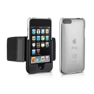 DLO DLA67001 SlimShell Sport Hardshell Case + Removable Armband for iPod Touch 3G and 2G