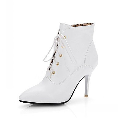 Boots Office Winter amp;Amp; Leather Wedding 5 Leatherette Novelty Dress Eveningstiletto Career Comfort 5 Women'S Casual CN45 amp;Amp; UK9 Party EU43 Patent RTRY US11 Fall Spring PwCAnq5