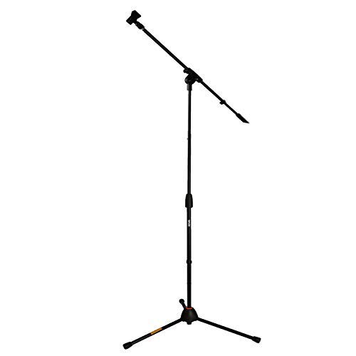 Tenuto Tech Adjustable Tripod Stand Microphone Stand Mic Stand Butterfly Clip For Audio Vocal Stage