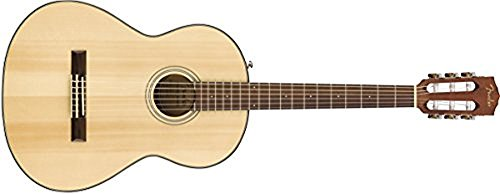 Fender CN-60S Right Handed Nylon String Acoustic Guitar – Concert Body – Natural