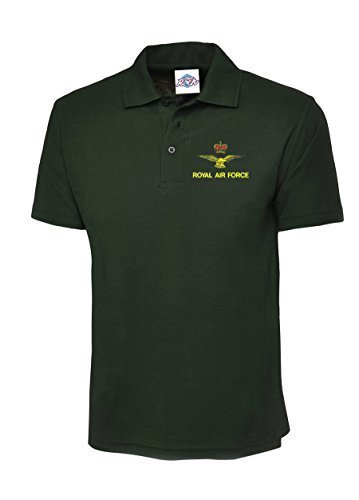 RAF Airmans Polo Shirt with Embroidered Logo